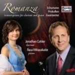 Clarinet transcriptions Jonathan Cohler