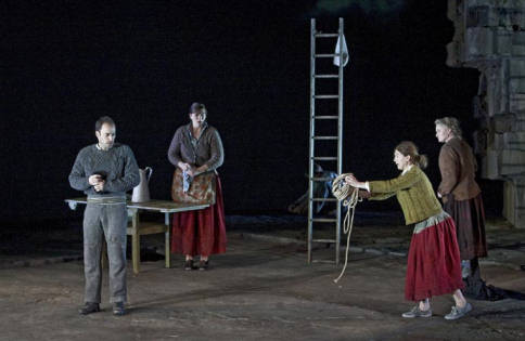 riders to the sea as a The sea in synge's riders to the sea is an agent of both destruction and sustenance the article analyzes synge's sea as a literal and figurative backdrop, connected to the action of the play.