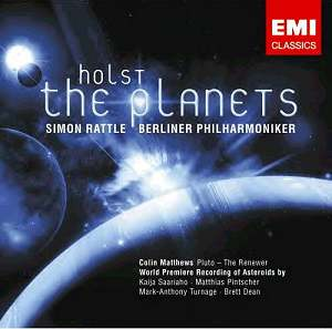 Holst's Planets Suite CD