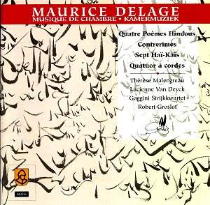 Maurice Delage Rb Classical Cd Reviews Feb 2001 Musicwebuk