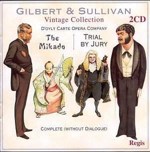 GILBERT & SULLIVAN The Mikado, Trial by Jury [GB]: Classical