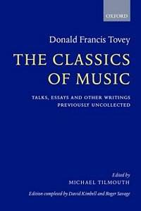 donald francis tovey essays in musical analysis Essays in musical analysis by sir donald francis tovey, 1935, oxford university press, h milford edition, in english.