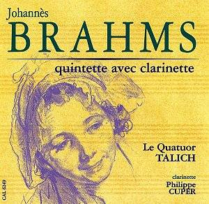 BRAHMS, MOZART Clarinet Quintets Cuper/Talich[]: Classical Reviews