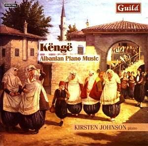Kenge Albanian Piano Music Rb Classical Cd Reviews April 2003 Musicweb Uk