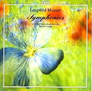 Leoplod Mozart Symphonies CPO 999 942-2 [JV]: Classical CD Reviews