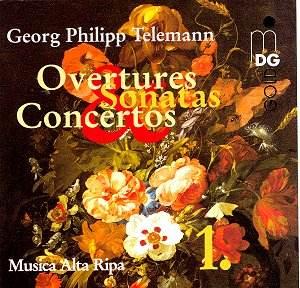 Telemann overtures sonatas concertos cc classical cd for Christian heidemann