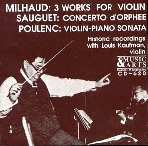 louis kaufman violin jw classical cd reviews june 2003 musicweb uk. Black Bedroom Furniture Sets. Home Design Ideas