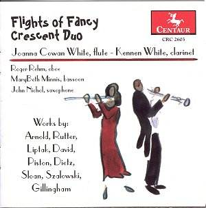 Flights of Fancy - Crescent Duo [GPJ]: Classical CD Reviews