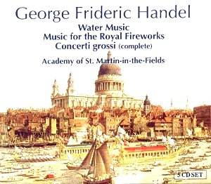 George Frideric HANDEL - Water Music [JW]: Classical CD ...