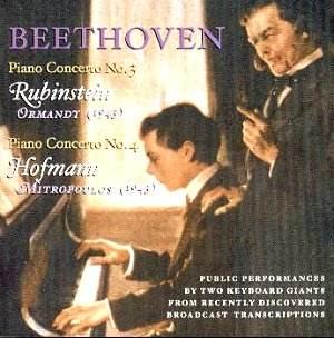 beethoven pc3 4 rubinstein hofmann jw classical cd reviews april 2003 musicweb uk. Black Bedroom Furniture Sets. Home Design Ideas