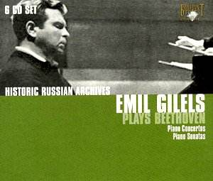 Concertos pour piano Beethoven Beethoven_gilels