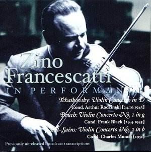 zino francescatti music and arts cd 1118 jw classical cd reviews jan 2004 musicweb uk. Black Bedroom Furniture Sets. Home Design Ideas
