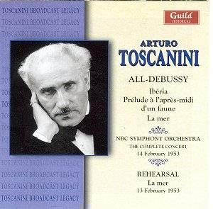 Debussy - La mer & Autres Debussy_Toscanini_GHCD2271_KS