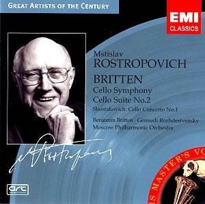 Britten Shostakovich Rostropovich 5 62827-2 [CC]: Classical