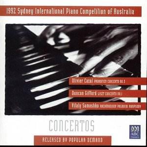 t1992 Sydney International Piano Competition of Australia