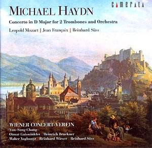 Michael HAYDN Concerto for two Trombones CAMERATA CM-28030