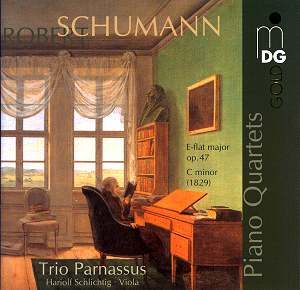 SCHUMANN Piano Quartets MDG 9031414 6 [MC]: Classical CD Reviews  August  2006 MusicWeb International