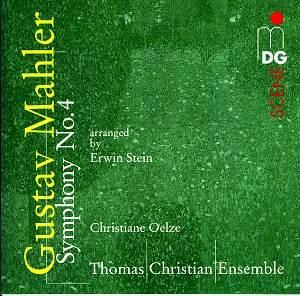mahler - Gustav Mahler : 4ème symphonie Mahler4_Stein_MDG60313202