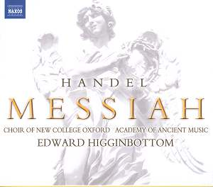 HANDEL Messiah Naxos 8.570131/2 [JV]: Classical CD Reviews ...