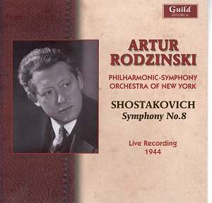 SHOSTAKOVICH Symphony 8 Rodzinski GHCD2322 [JW]: Classical