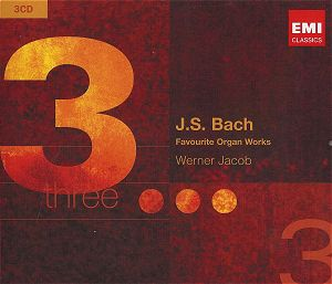 BACH Favourite Organ Works EMI 5093932 [BW]: Classical CD