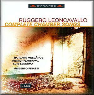 LEONCAVALLO Songs Dynamic CDS570/1-2 [CH]: Classical CD