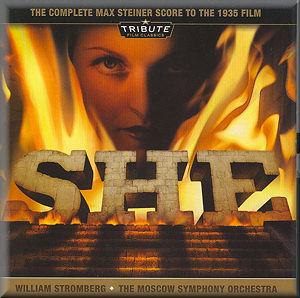STEINER: She complete film score TFC1003 [IL]: CD Reviews ...