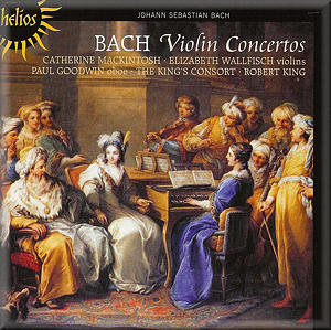 BACH Violin Concertos Hyperion CDH55347 [BW]: Classical Music ...