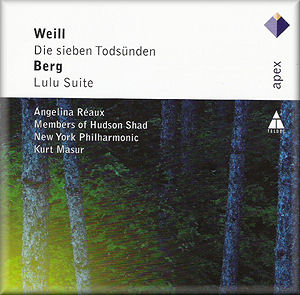 Kurt WEILL, Alban BERG Die Sieben Todsnden, Lulu-Suite - WARNER ...