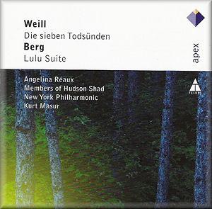 Kurt WEILL, Alban BERG Die Sieben Todsünden, Lulu-Suite - WARNER ...