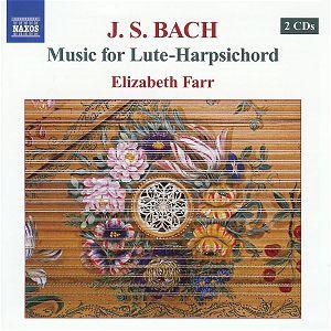 Bach: Music for Lute-Harpsichord: NAXOS 8 570470-71 [JV