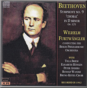 Beethoven : Symphony no  9 : PRISTINE AUDIO XR PASC 250 [MC
