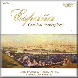 España - Classical Masterpieces : BRILLIANT CLASSICS 9147 [RB ...