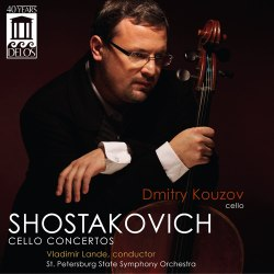 SHOSTAKOVICH - Cello Concertos 1 & 2 Delos DE 3444 [DM