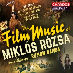 Rosza Film Gamba CHANDOS CHAN10806 [BW] Classical Music Reviews