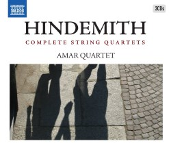 Hindemith Quartets NAXOS 8 503290 [SSi] Classical Music