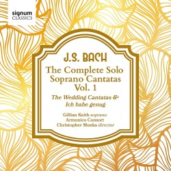 Johann Sebastian Bach Soprano Cantatas - Harmonia Mundi