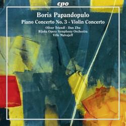 Papandopulo Concertos CPO 555 100-2 [JW] Classical Music