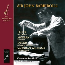Elgar Sea Pictures BARBIROLLI SOCIETY SJB1094 [JQ] Classical