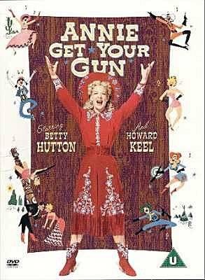 DVD film: Annie Get Your Gun: Music and lyrics by Irving ...