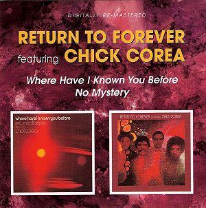 Chick Corea Return to forever BGOCD799 : Jazz CD Reviews ...