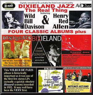 Dixieland Jazz Four Classic Albums Plus Avid Amsc 988